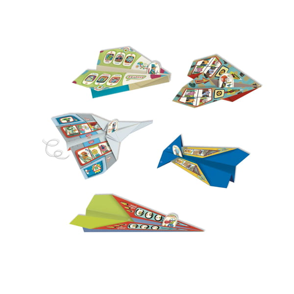 Set Origami Avioane De Hârtie Djeco-3