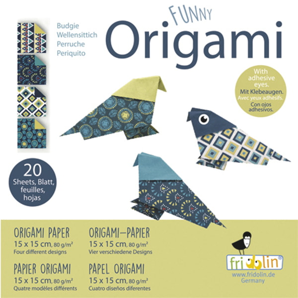 "Set Origami Fridolin ""Păsări"""