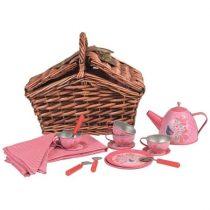 Set Pentru Ceai În Coș Împletit Pentru Copii