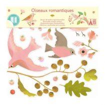Stickere Pentru Fereastră - Păsările Colorate (25 Stickere)