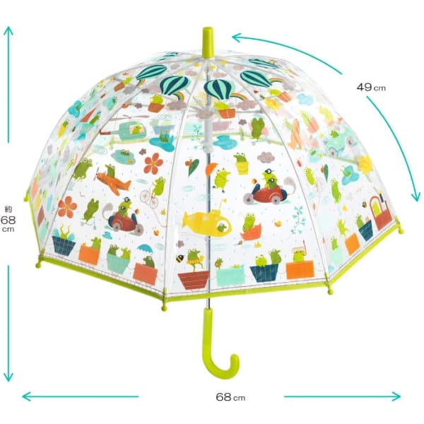 Umbrelă Copii Broscuțe1