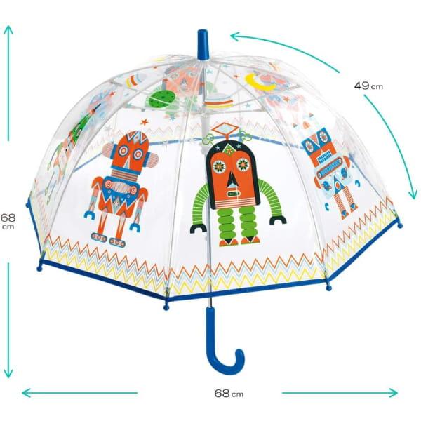 Umbrelă Copii Roboți1