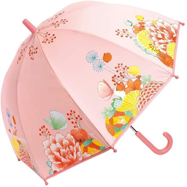 """Umbrelă Copii Roz """"Grădina Cu Flori"""""""