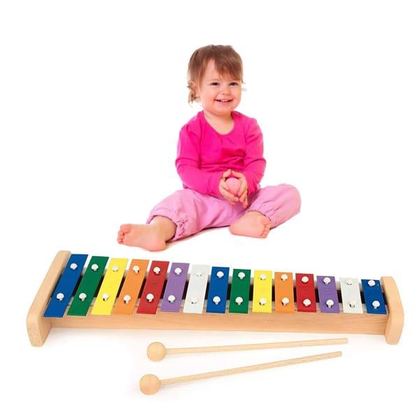 Instrument Xilofon Din Lemn (15 Note)