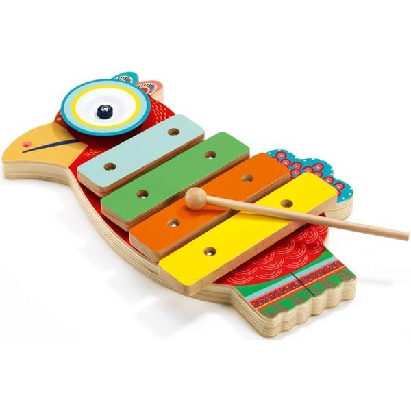 Xilofon Și Țambal Pentru Copii (4 Note)