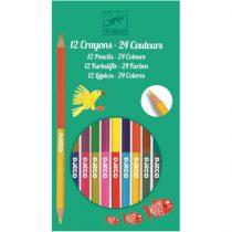12 Creioane Duble Pentru Colorat