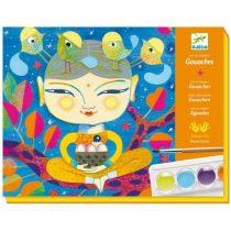 """Atelier Creativ Cu Culori Guașe """"India"""""""