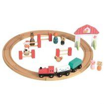 Circuit Tren Și Figurine Egmont