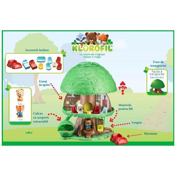 Copacul Magic Klorofil (Descriere)