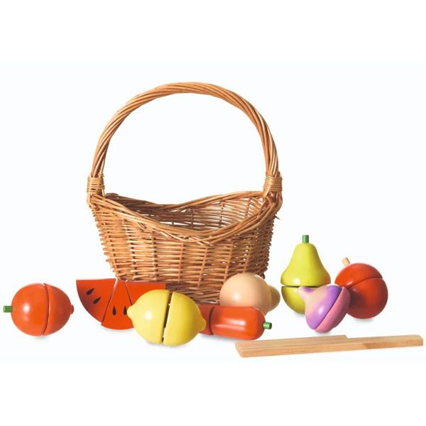 Coș Cu Fructe De Feliat Pentru Copii