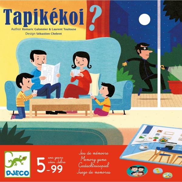 """Joc De Memorie Ce Lipsește din Casă? """"Tapikekoi"""""""