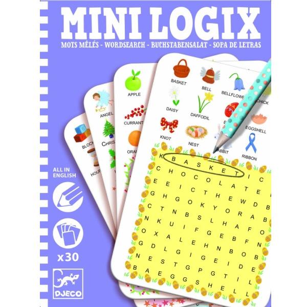 """Joc De Observație """"Mini Logix – Găsește Cuvintele"""""""