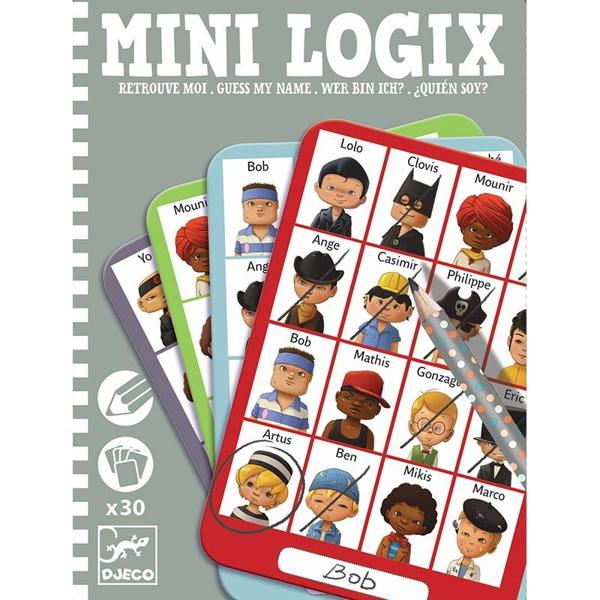 """Joc De Observație """"Mini Logix – Ghicește Personajul"""" Baieți"""