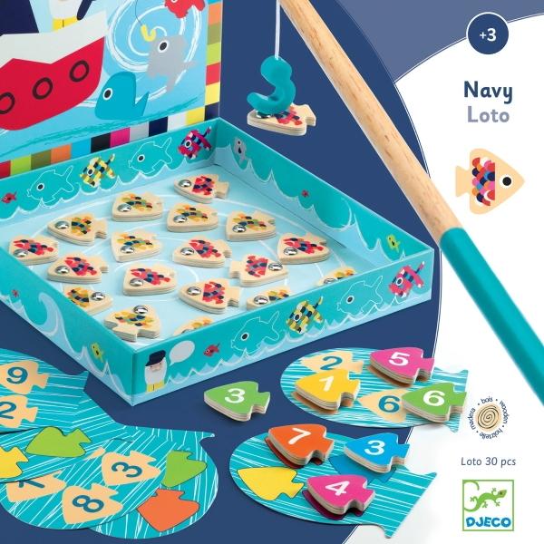 "Joc Educativ Magnetic ""Navy Loto"""
