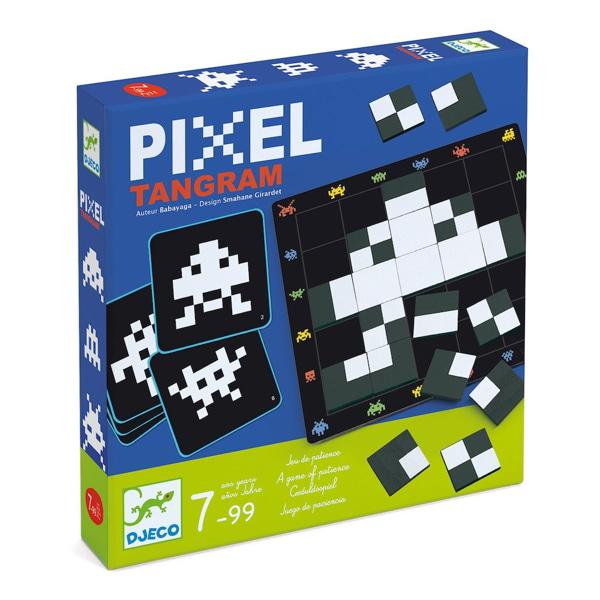 Joc Tactic Pixel Tangram