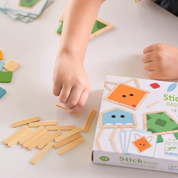 Joc de construit animale din lemn (2)