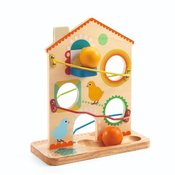 Jucărie Cu Pantă Roulatou Din Lemn-1