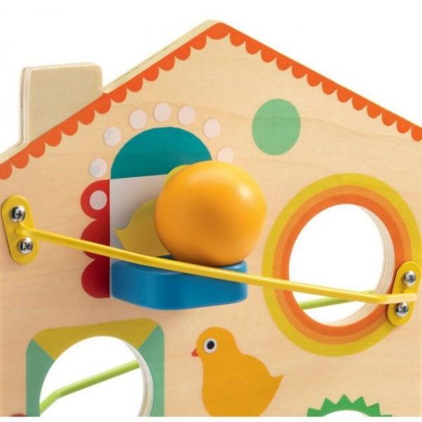 Jucărie Cu Pantă Roulatou Din Lemn-2