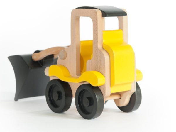 Jucărie Handmade – Excavator Din Lemn-1