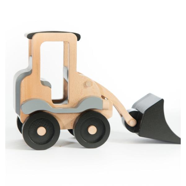 Jucărie Handmade – Excavator Din Lemn-2