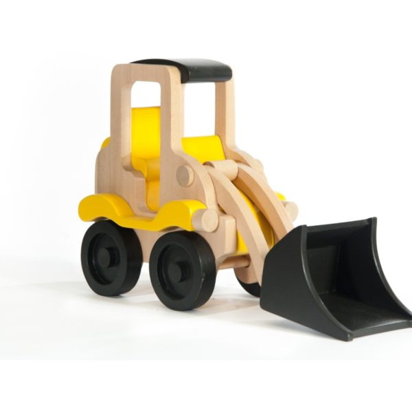 Jucărie Handmade – Excavator Din Lemn