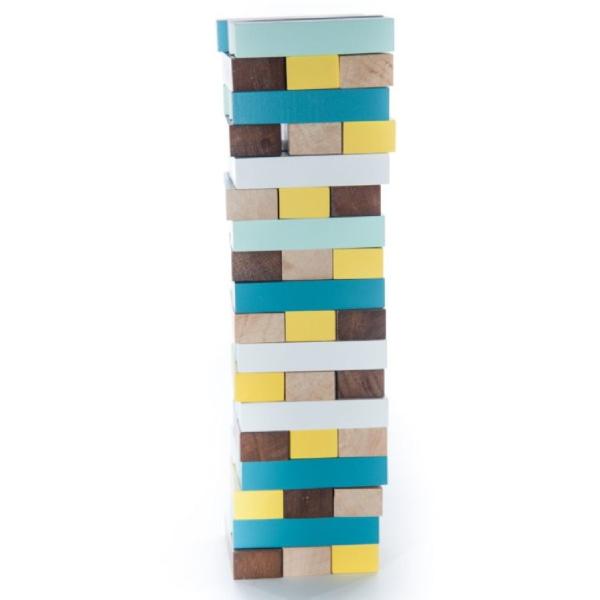 Jucărie Handmade – Turn Din Lemn-1