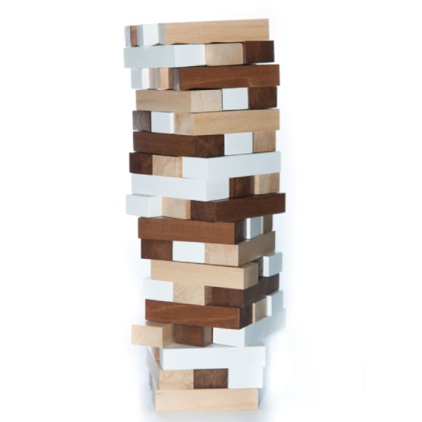 Jucărie Handmade – Turn Din Lemn-3