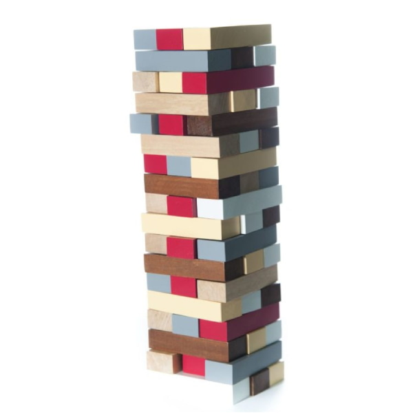 Jucărie Handmade – Turn Din Lemn-6