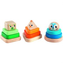 """Jucărie Montessori Bebeluși """"Pyramidou"""""""