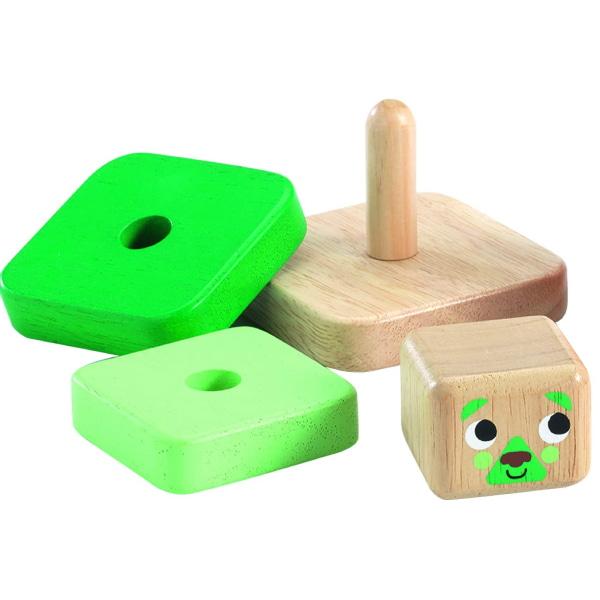 Jucărie Montessori Bebeluși Pyramidou-2