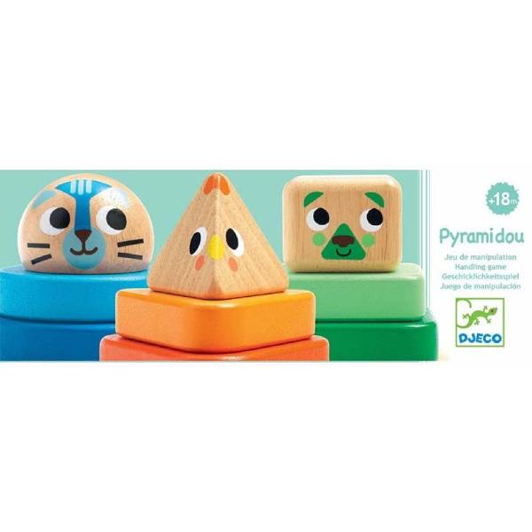 Jucărie Montessori Bebeluși Pyramidou