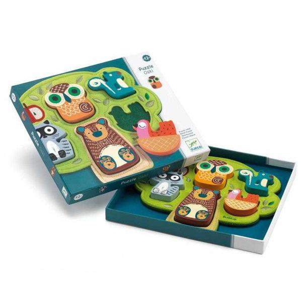 Puzzle Bebeluși Animale Oski-1
