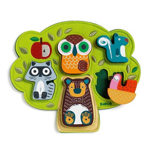 Puzzle Bebeluși Animale Oski-3