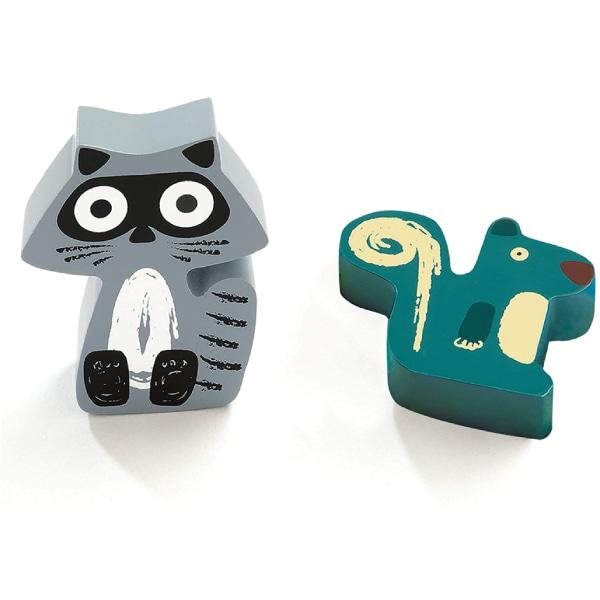Puzzle Bebeluși Animale Oski-4
