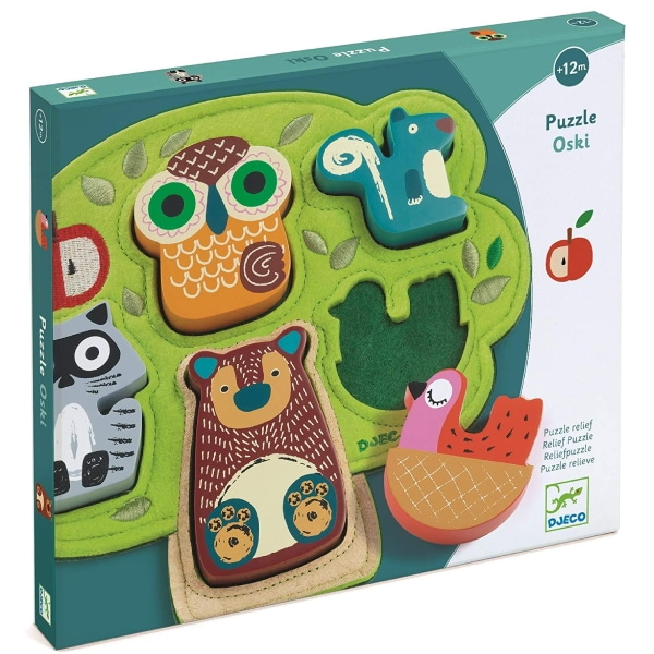 Puzzle Bebeluși Animale Oski-5