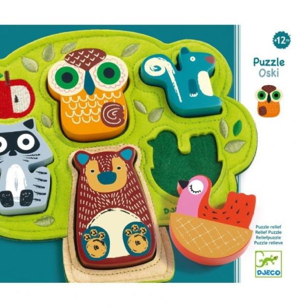 "Puzzle Bebeluși Animale ""Oski"""