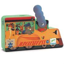 """Puzzle Copii """"Locomotiva De Tren"""" (16 Piese)"""