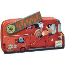 """Puzzle Copii """"Mașina De Pompieri"""" (16 Piese)"""