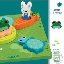 Puzzle Relief 1,2,3 Froggy