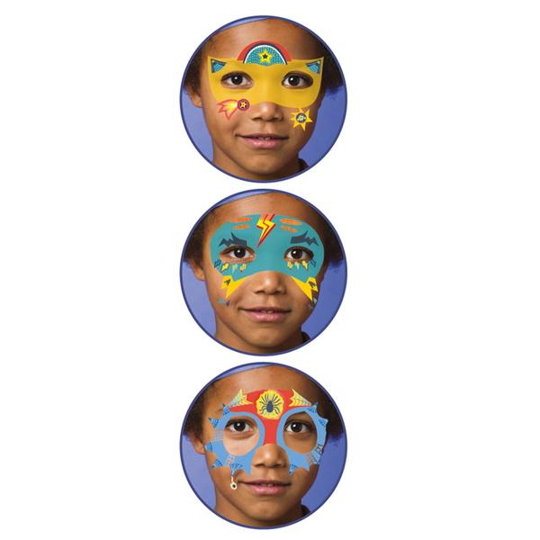 Set Culori Make-Up Non-Alergice Super-Eroi-1