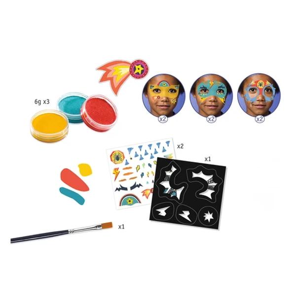 Set Culori Make-Up Non-Alergice Super-Eroi-2