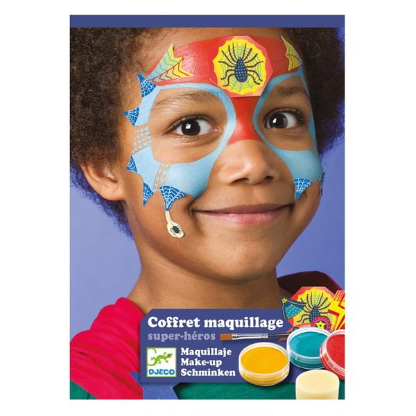 """Set Culori Make-Up Non-Alergice """"Super-Eroi"""""""