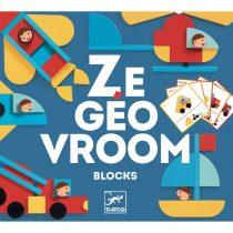 """Set De Construit Cu Piese Geometrice """"Ze Geo Vroum"""""""