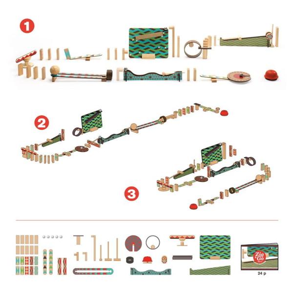 Set De Construit Zig & Go – Big Boum Wall-7