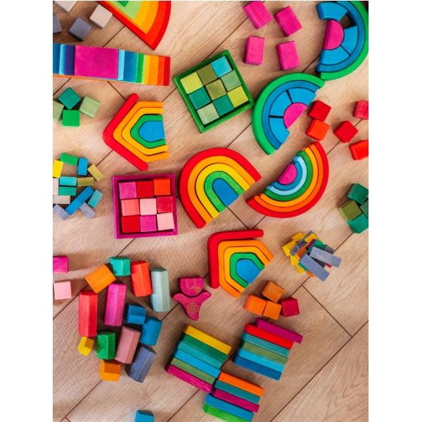 Set Handmade – Cuburi Și Blocuri În Cutie-1