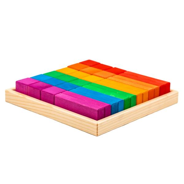 Set Handmade – Cuburi Și Blocuri În Cutie