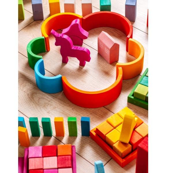 Set Handmade – Unicornii Colorați Din Lemn-3
