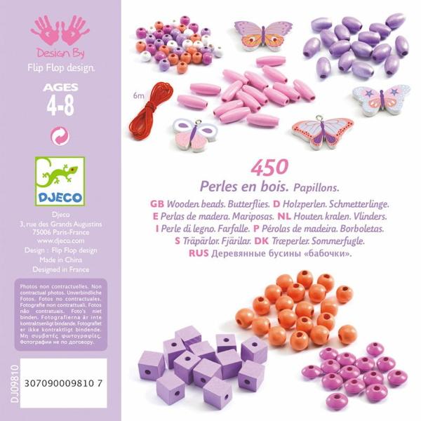 Set Mărgele Roz Pentru Fete-4