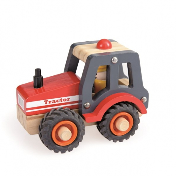 Tractor Din Lemn Pentru Copii