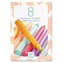 """set de Colorat - 8 culori Cu Gel Pastel """"Sweet"""""""